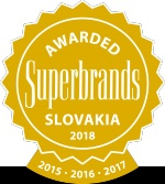 Už po štvrtý krát sme sa zaradili medzi Superbrands - najsilnejšie značky na Slovensku